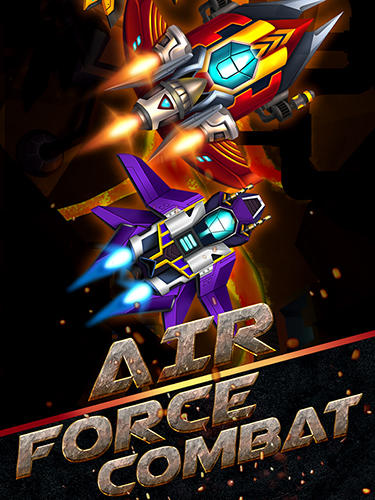 Скачать Air force combat. Shoot'em up: Android Стрелялки игра на телефон и планшет.