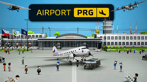 Скачать Airport PRG: Android Менеджер игра на телефон и планшет.