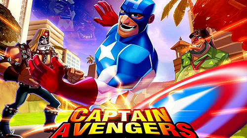 Скачать Battle of superheroes: Captain avengers: Android Файтинг игра на телефон и планшет.