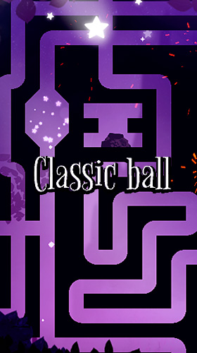 Скачать Classic ball and the night of falling stars: Android Игры с физикой игра на телефон и планшет.