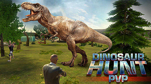 Скачать Dinosaur hunt PvP: Android Динозавры игра на телефон и планшет.
