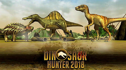 Скачать Dinosaur hunter 2018: Android Динозавры игра на телефон и планшет.