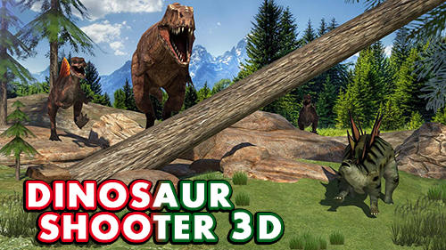 Скачать Dinosaur shooter 3D: Android Шутер от первого лица игра на телефон и планшет.