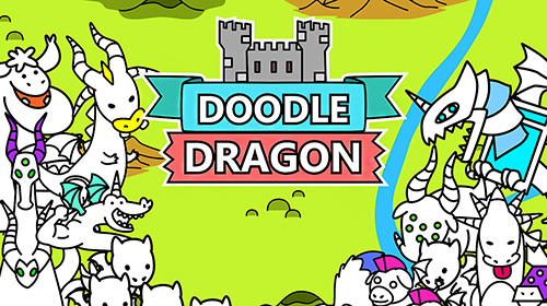 Скачать Doodle dragons: Dragon warriors: Android Тайм киллеры игра на телефон и планшет.