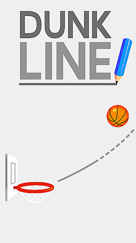Скачать Dunk line: Android Тайм киллеры игра на телефон и планшет.