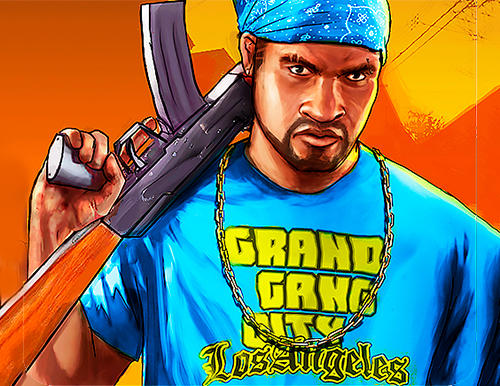 Скачать Grand gang city Los Angeles: Android Криминал игра на телефон и планшет.