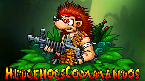 Скачать Hedgehogs commandos: Think, aim, shoot, jump: Android Игры с физикой игра на телефон и планшет.