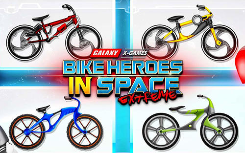 Скачать High speed extreme bike race game: Space heroes: Android Мототриал игра на телефон и планшет.