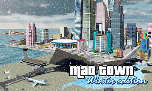 Скачать Mad town winter edition 2018: Android Криминал игра на телефон и планшет.