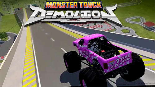 Скачать Monster truck demolition: Android Машины игра на телефон и планшет.