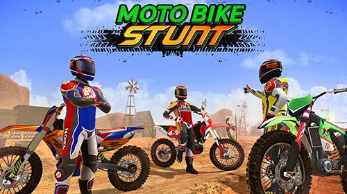 Скачать Moto bike racing stunt master 2019: Android Мотоциклы игра на телефон и планшет.