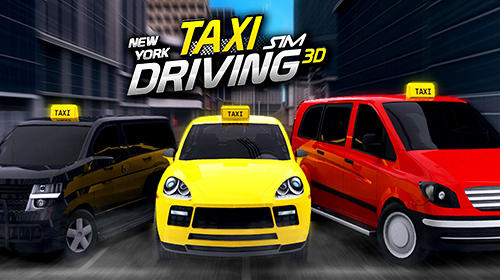 Скачать New York taxi driving sim 3D: Android Машины игра на телефон и планшет.