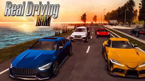 Скачать Real driving sim: Android Симуляторы игра на телефон и планшет.