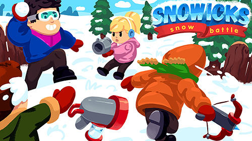 Скачать Snowicks: Snow battle: Android Тайм киллеры игра на телефон и планшет.