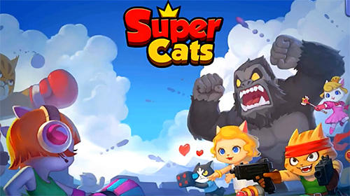 Скачать Super cats: Android Шутер с видом сверху игра на телефон и планшет.