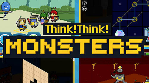Скачать Think! Think! Monsters: Android Тайм киллеры игра на телефон и планшет.