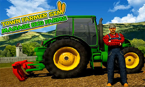 Скачать Town farmer sim: Manage big farms: Android Ферма игра на телефон и планшет.