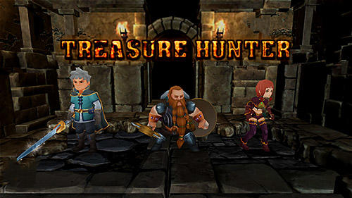 Скачать Treasure hunter. Dungeon fight: Monster slasher: Android Action RPG игра на телефон и планшет.
