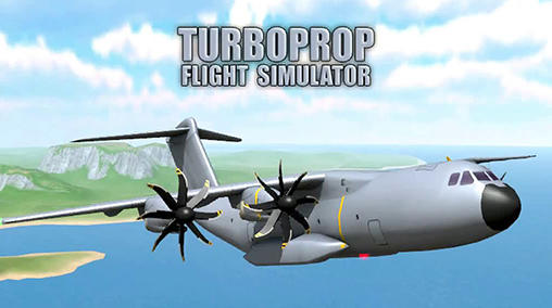 Скачать Turboprop flight simulator 3D: Android Авиасимуляторы игра на телефон и планшет.