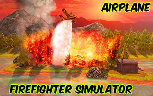 Скачать Airplane firefighter simulator: Android Авиасимуляторы игра на телефон и планшет.