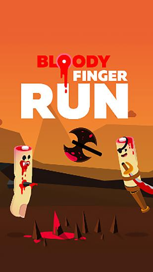 Скачать Bloody finger run: Android Раннеры игра на телефон и планшет.