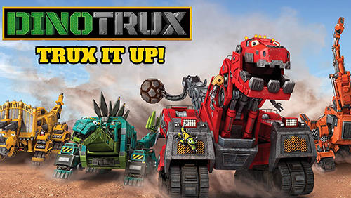 Скачать Dinotrux: Trux it up!: Android Роботы игра на телефон и планшет.