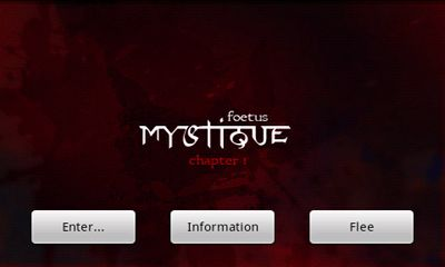 Скачать Mystique. Chapter 1 Foetus: Android Квесты игра на телефон и планшет.