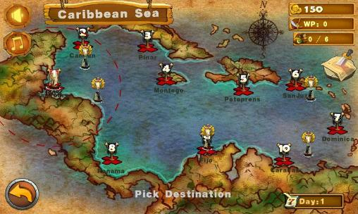 Fleet of Caribbean