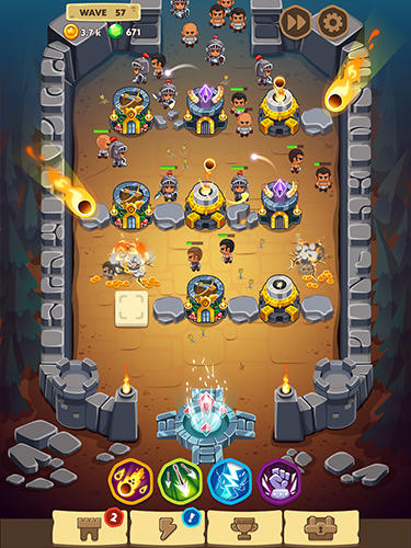 Spell heroes: Tower defense