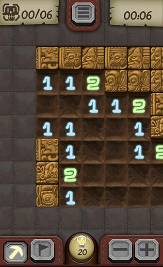 Temple minesweeper: Minefield