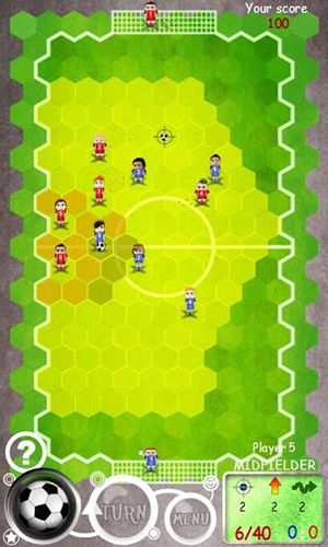 Football tactics hex