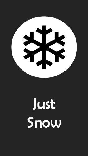 Just snow – Photo effects