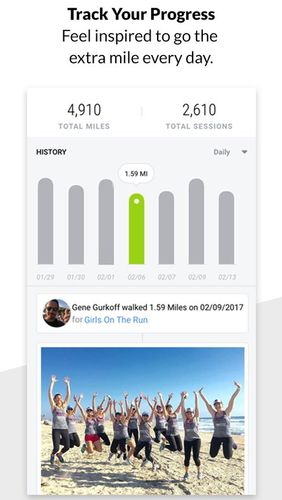 Charity Miles: Walking & running distance tracker