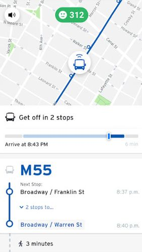 Transit: Real-time transit app
