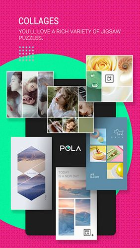 POLA camera - Beauty selfie, clone camera & collage