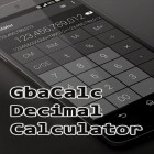 С приложением Fooducate: Healthy weight loss & calorie counter для Android скачайте бесплатно Gbacalc decimal calculator на телефон или планшет.
