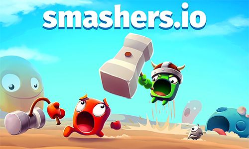 Скачайте Online игру Smashers.io: Foes in worms land для iPad.
