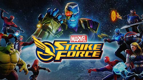 Скачайте игру Marvel strike force для iPad.