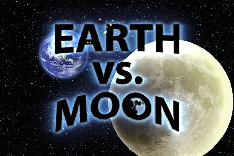 Earth vs. Moon