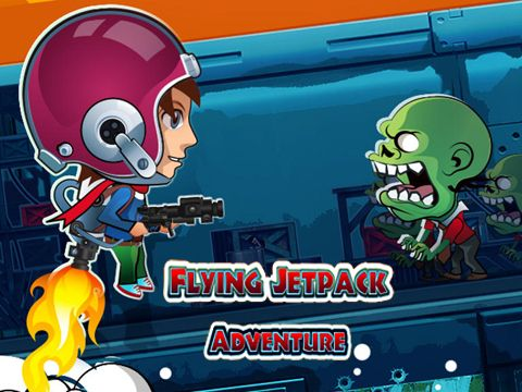 Flying jetpack adventure