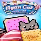 Скачать Nyan cat: Candy match на iPhone бесплатно.