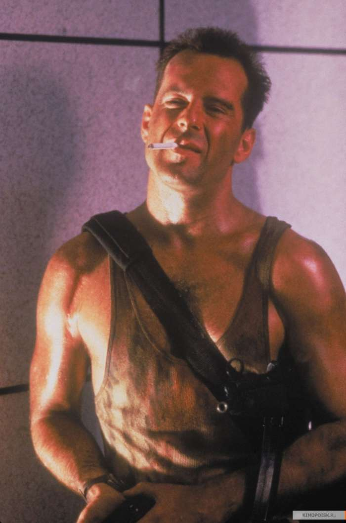 john mcclain from die hard as an example of an american hero of today Start studying sociology - real world - ch 13 and actors of die hard meant for the audience to root for the protagonist, a blue-collar hero who defeats a team.