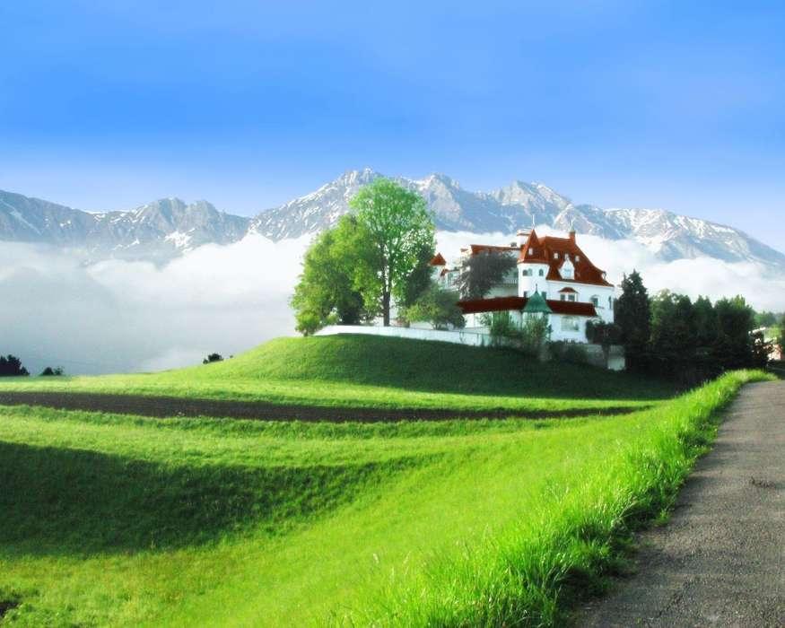 Болгария италия Линдос домик в деревне