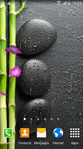 Скриншот экрана Zen garden by BlackBird Wallpapers на телефоне и планшете.