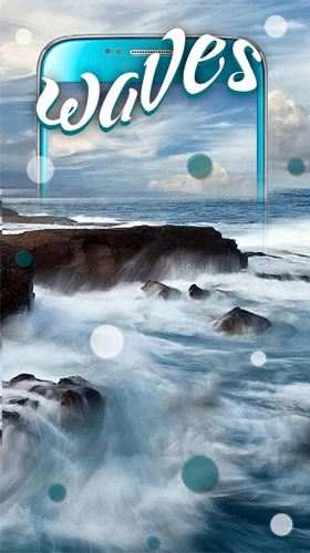 Ocean waves by Keyboard and HD Live Wallpapers