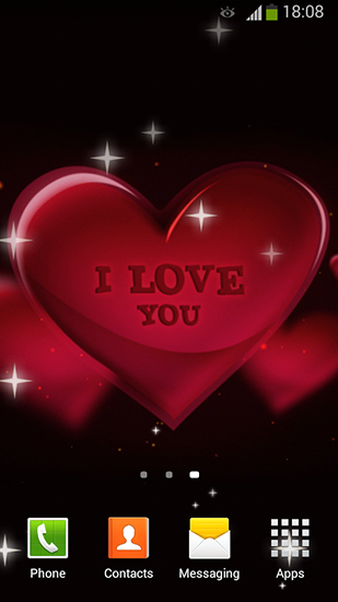 I love you by Lux live wallpapers